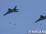 中方战机对地实施攻击
