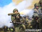 """士兵使用火箭筒打击""""恐怖分子"""""""