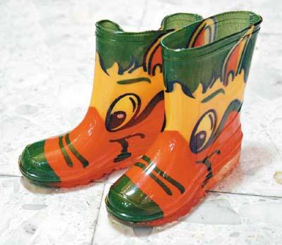 钩鞋子花样图解雨伞