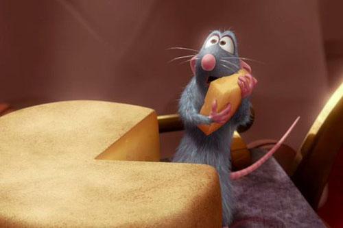 《料理鼠王》中可爱的小老鼠