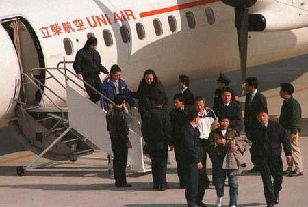 劫机犯杨明德、林文强也被台湾警方遣送回大陆