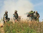解放军攻击恐怖分子