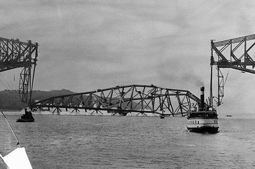 魁北克大桥二度坍塌