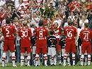 图文:绍尔告别赛巴萨1-0拜仁 巨星告别的荣耀