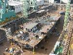 在船坞建造中的16DDH