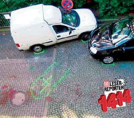 发现尸体的两辆汽车高清图片