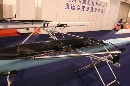 图文:第21届体博会开幕 奥运指定厂商赛艇