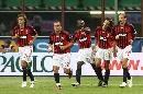 图文:[贝杯]米兰2-0尤文 红黑五大将庆祝进球