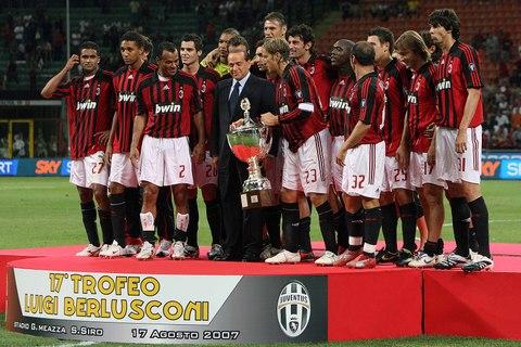 图文:[贝杯]米兰2-0尤文 红黑军团又夺一冠