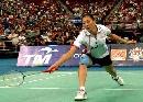 图文:[羽毛球]张宁0-2王晨遭淘汰 防守很吃力