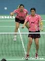 图文:[羽毛球]杨维/张洁雯内战取胜 攻守兼备