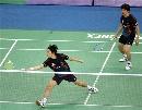 图文:[羽毛球]郑在成/李龙大晋级 日本对手
