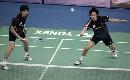 图文:[羽毛球]郑在成/李龙大晋级 防守凶狠
