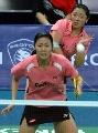 图文:[羽毛球]杨维/张洁雯内战取胜 对手失常