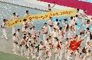 图文:纪录激情燃烧的11天 中国代表团在开幕式