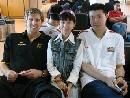 图文:[男篮]中国队苦练  搜狐VS大郅德克