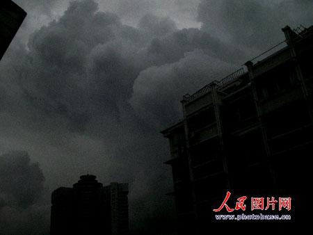 """台风""""圣帕""""影响绍兴"""