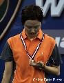 图文:[羽毛球]小将朱琳2-0王晨夺冠 失意王晨