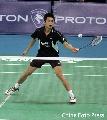 图文:[羽毛球]林丹2-0索尼成功卫冕 防守严密