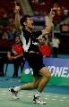 图文:[羽毛球]林丹2-0索尼成功卫冕 霸气十足