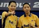 图文:[羽毛球]杨维张洁雯2-0高��黄穗 遥指胜利