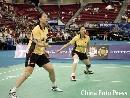 图文:[羽毛球]杨维张洁雯2-0高��黄穗 配合默契