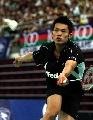 图文:[羽毛球]林丹2-0索尼成功卫冕 轻松挑起