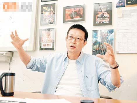 刘伟强进军好莱坞的首部戏将于10月上档。不过海报却惊现粗口