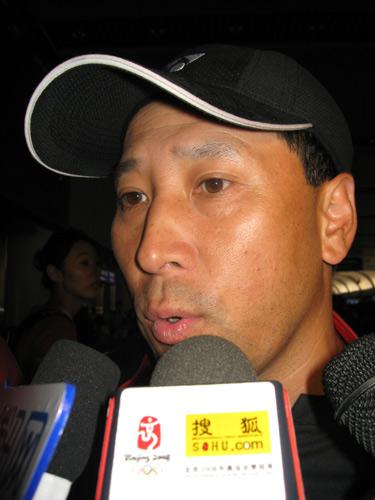 图文:国羽世锦赛归来 李永波教练谈得失