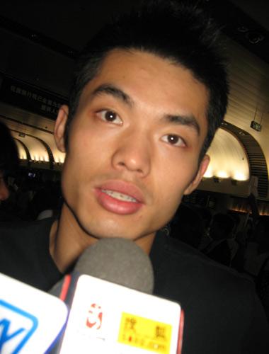 图文:国羽世锦赛归来 林丹满意取卫冕