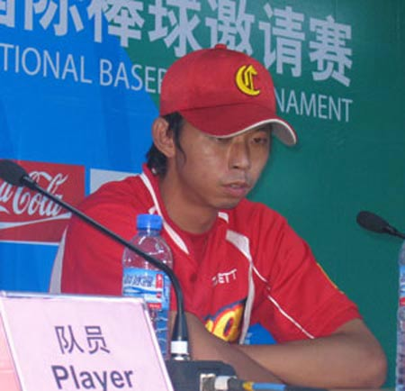 中国队员陈俊毅