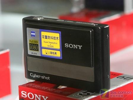 800万像3X光变 索尼防抖卡片机T20降价