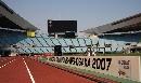 图文:世界田径锦标赛主体育场掠影 跑道一景