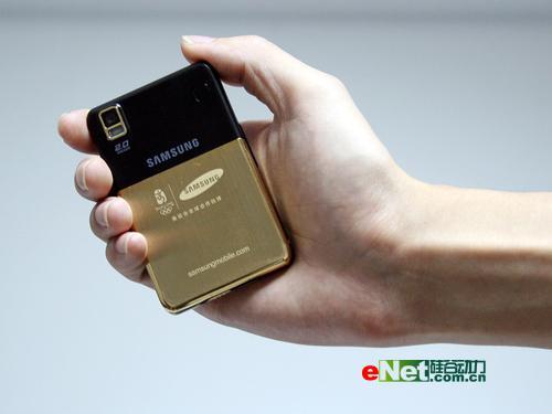 三星奥运纪念版手机P318+真机图赏