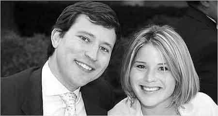 """美国""""第一女儿""""詹娜·布什和未婚夫亨利·海格"""