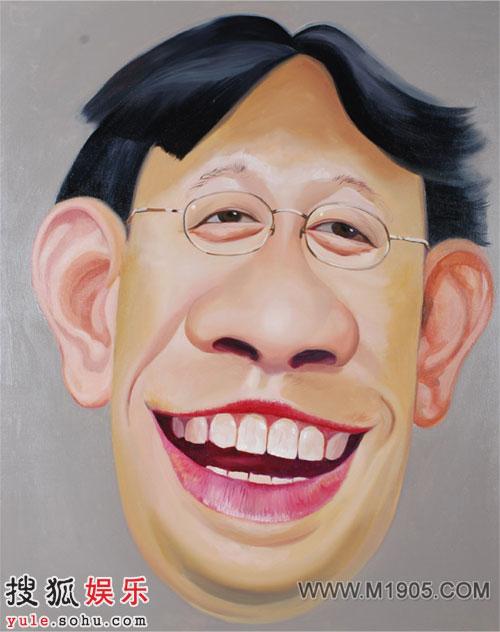 第十二届中国电影华表奖出席影人漫画 - 姜文