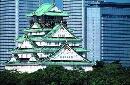 图文:举办城市大阪之风光无限 天守阁风光