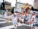 图文:举办城市大阪之风光无限 大阪的天神祭