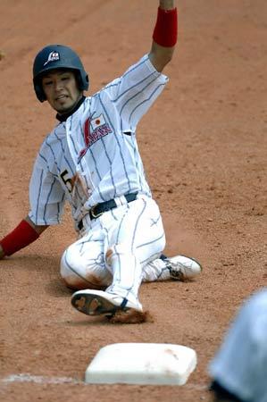 图文:棒球测试赛日本晋级决赛 9比4击败法国队