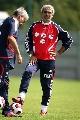 友谊赛-法国VS斯洛伐克 多梅内克在训练场
