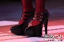 张惠妹搜狐歌会—— 鞋子特写