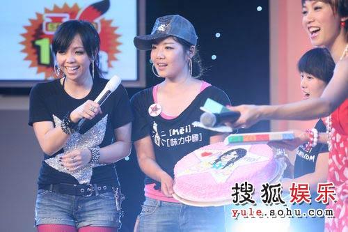 张惠妹搜狐歌会 唱生日歌祝福搜狐V频道08