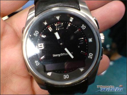 索尼爱立信蓝牙手表MBW 150实物曝光 值得拥有
