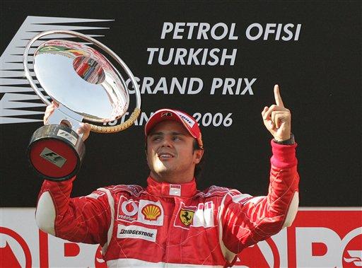 2006赛季,马萨赢得了土耳其大奖赛的冠军