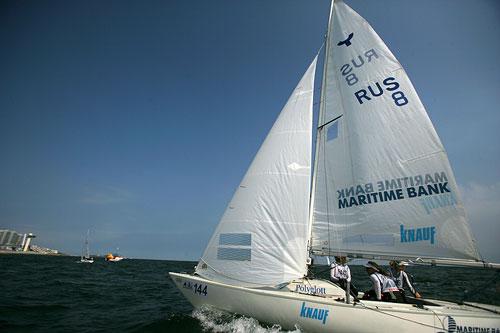图文:青岛帆船赛圆满落幕 比赛后准备返航