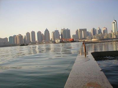 图文:青岛奥林匹克帆船中心 海涛轻拂新码头