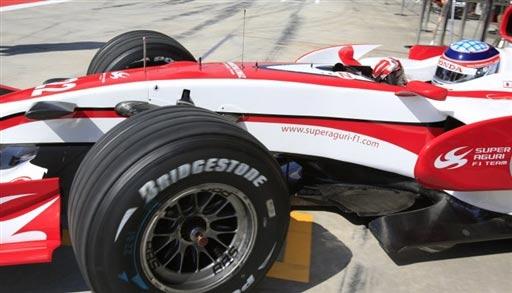 图文:[F1]土耳其站练习赛 车手静静等待挑战