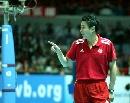 图文:中国女排3-2力克意大利 陈忠和谈笑风声