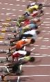 图文:男子100米预赛 起跑瞬间