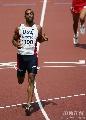 图文:男子100米预赛 盖伊期待更快的挑战